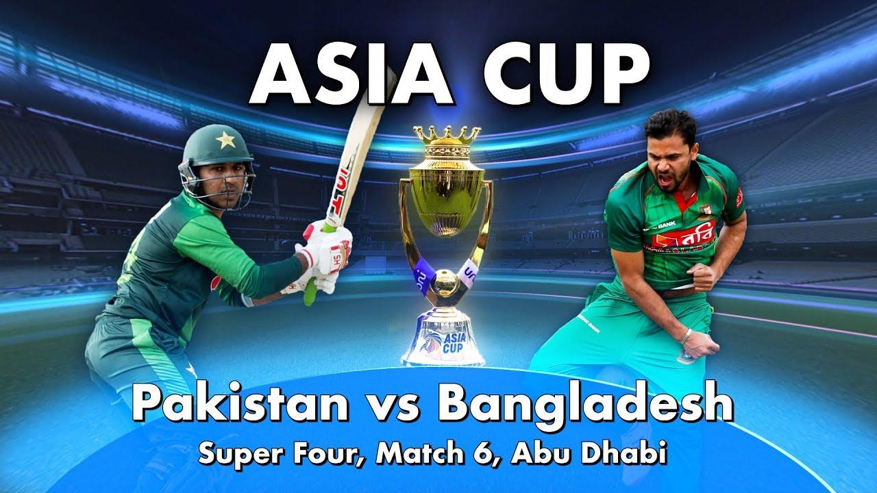 Pakistan Vs Bangladesh Preview