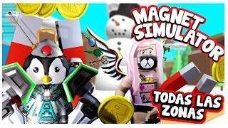 Magnet Simulator by opening all levels of ROBLOX Simulator of magnets