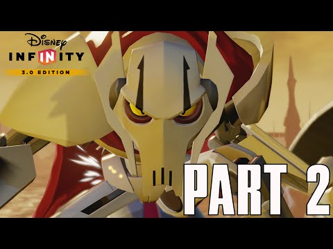 Twlight Of The Republic - General Grievous - Gameplay Part 2 (Disney Infinity 3.0 HD Walkthrough)