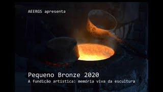 PEQUENO BRONZE - A fundição artística: memória viva da escultura