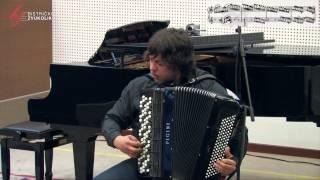 Pjetr P. Londonow: Scherzo Toccata - Neno Atanasković, harmonika / Bistrički ZVUKOLIK 2014.
