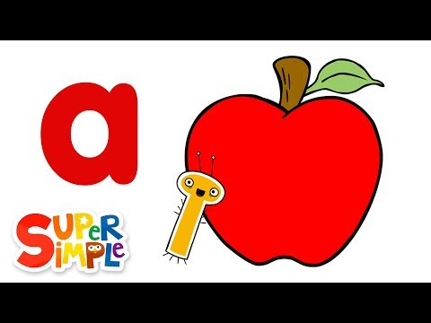 The Letter A | Learn The Alphabet | Super Simple ABCs