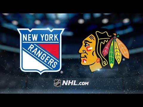 NEW YORK RANGERS VS CHICAGO BLACKHAWKS 11/15/17