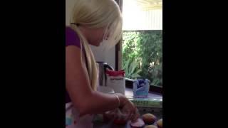 Sugar Sisters Baking Cupcakes