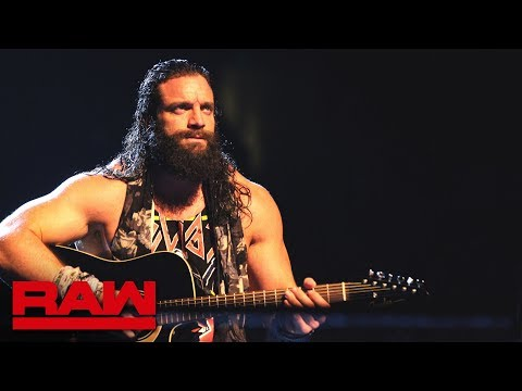 Elias affirms he will win the 2019 Men's Royal Rumble Match: Raw, Jan. 7, 2019