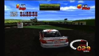 TOCA 2 Touring Car Challenge PS1: Thruxton