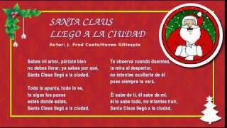 Miss Rossi - 12 - Santa Claus Llego a la Ciudad - Villancicos Feliz Navidad Christmas Carols
