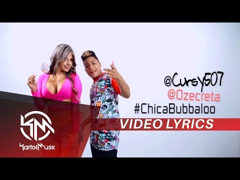 El Cursy - Chica Bubbaloo | VIDEO LYRICS