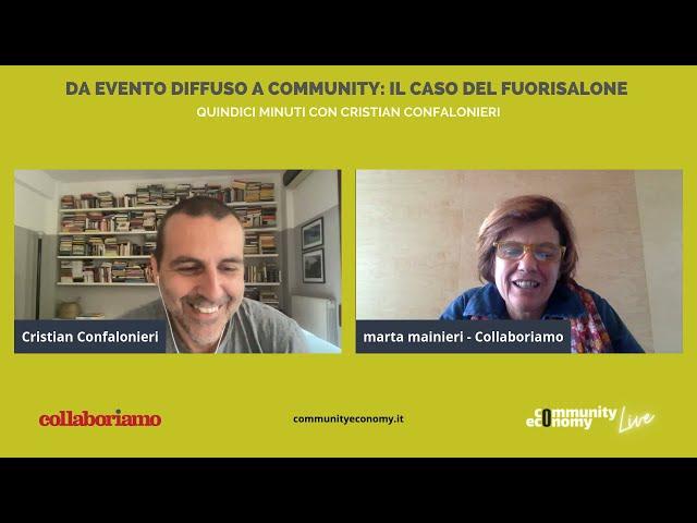 Ep. 18 | Cristian Confalonieri | Co-founder Fuorisalone.it