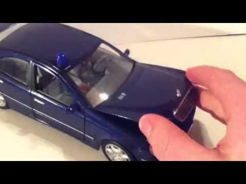 Alarm für Cobra 11 Mercedes C- Klasse Modell - YouTube