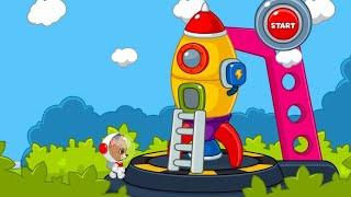 Let's Play • Space Adventures: Flight to the Moon • Lot rakietą w kosmos, Bajki, Gry dla dzieci