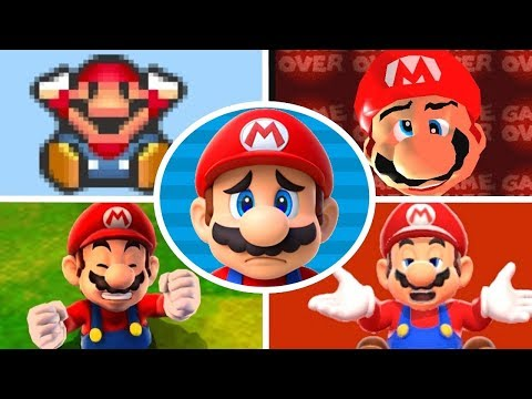 Evolution Of Deleting Save Data In Mario Games (1985-2018)