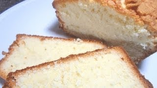 How To Make Cream Cheese Pound Cake - Easy Cooking!
