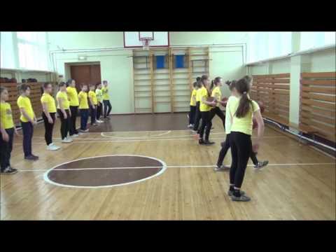 Точная подача - подвижная игра и игровое упражнение