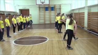 Фрагмент урока по теме Подвижные игры с элементами игры баскетбол изучение нового материала Кашкин Н