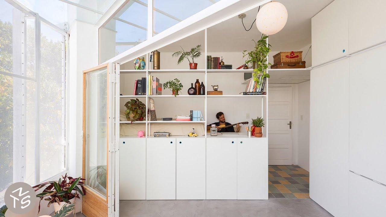 NEVER TOO SMALL 25sqm/269sqft small apartment design - El Camarín