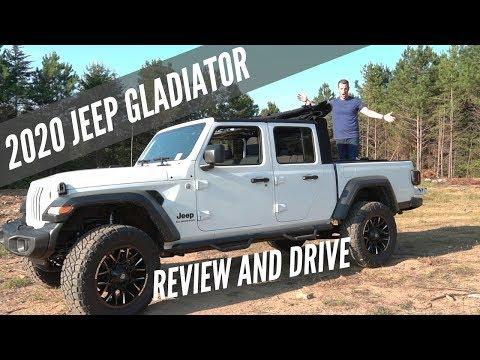 2020 Jeep Gladiator - The New Midsize Truck Winner