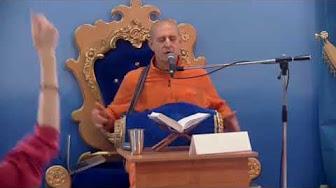 Шримад Бхагаватам 1.12.14 - Кришнадас Кавирадж прабху