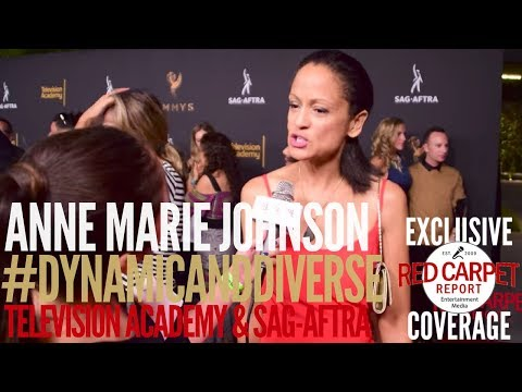 Anne Marie Johnson ed at 5th Annual Dynamic & Diverse Television Academy & SAGAFTRA Party
