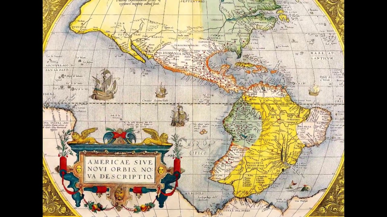 Old Maps Of The World 16001900  YouTube