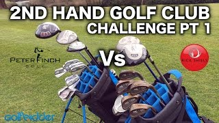 Скачать RICK Vs PETER THE 2nd HAND GOLF CLUB CHALLENGE PT1