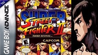 Super Street Fighter II - Turbo Revival - Fei Long (GBA)