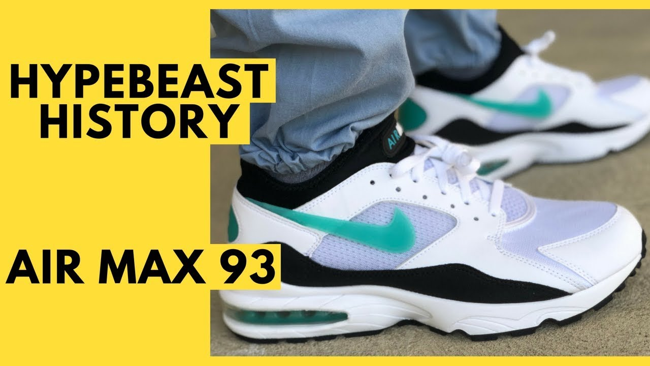 Nike Air Max 93 History, Unboxing, Review, On Feet, and Sizing and Fit
