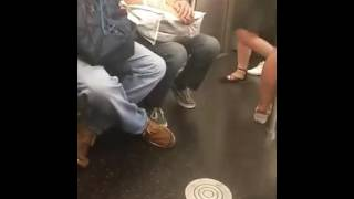 Man on bus jerking off