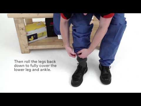 How to don your 3M Protective Coverall