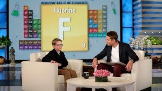 Kid Periodic Table Expert Finn Shows Off His Impressive Knowledge