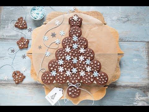 ALBERO PAN DI STELLE (Torta Pan di stelle per Natale) - Chiarapassion