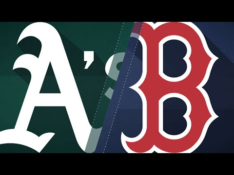 A's clobber 3 HRs in 6-5 win over Red Sox: 5/14/18