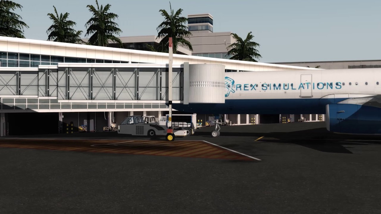REX 5 | Worldwide Airports HD