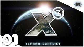 X3 Terran Conflict [vanilla] ★ #01 Ausflug in die Vergangenheit ★ [Deutsch German Gameplay]