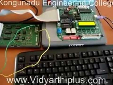 Stepper Motor Control Using 8085 Microprocessor Program