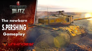 Update 3.9 Buffed Super Pershing gameplay || The new-born