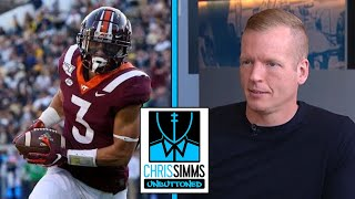 2021 NFL Mock Draft: Panthers Stop Caleb Farley's Slide | Chris Simms Unbuttoned | NBC Sports