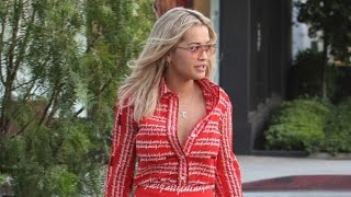 Rita Ora Wears Same Dress As Beyonce Amid Speculation She Had Affair with Jay Z