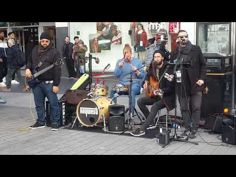 keywest - I Love you baby, 2018 , street band , live music, in liverpool. New best music