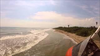 Trike Flying in Honduran Tropical Paradise,