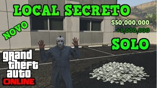 LOCAL SECRETO ENCONTRADO NO GTA 5 ONLINE - GLITCH DINHEIRO INFINITO