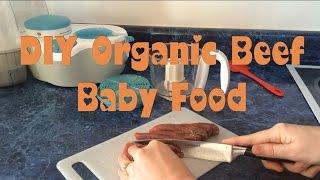 DIY BABY FOOD: MAKE ORGANIC BEEF BABY FOOD GREAT SOURCE OF IRON
