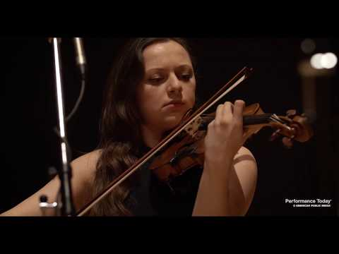 Violinist Maria Ioudenitch with pianist Ying Li