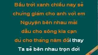 Giac Mo Co Tich Karaoke - Bùi Anh Dũng - CaoCuongPro