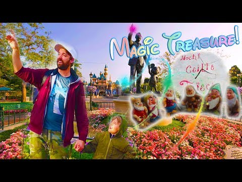 Disney Treasure Hunt Continues! Magic Is Real Following The Clues / The Beach House