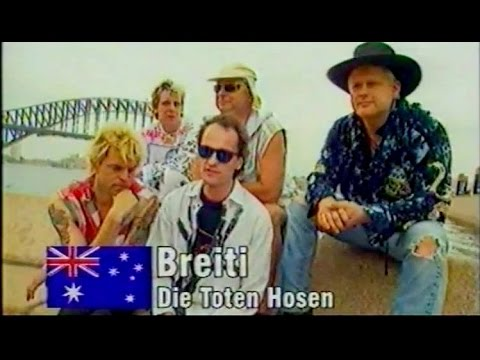 "Die Toten Hosen - 'Warped Tour' Australien 01.1998 (""Down Under"" TV Report: Live & Interview)"