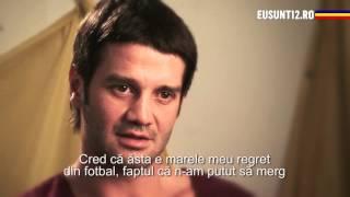 EuSunt12 Cristi Chivu vorbeste despre momentul in care a trebuit sa renunte la fotbal