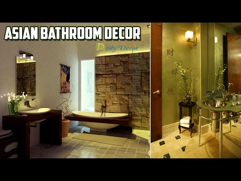 [Daily Decor] Asian Bathroom Decor