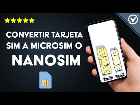 Cómo Cortar y Convertir una Tarjeta SIM Antigua a MicroSIM o NanoSIM