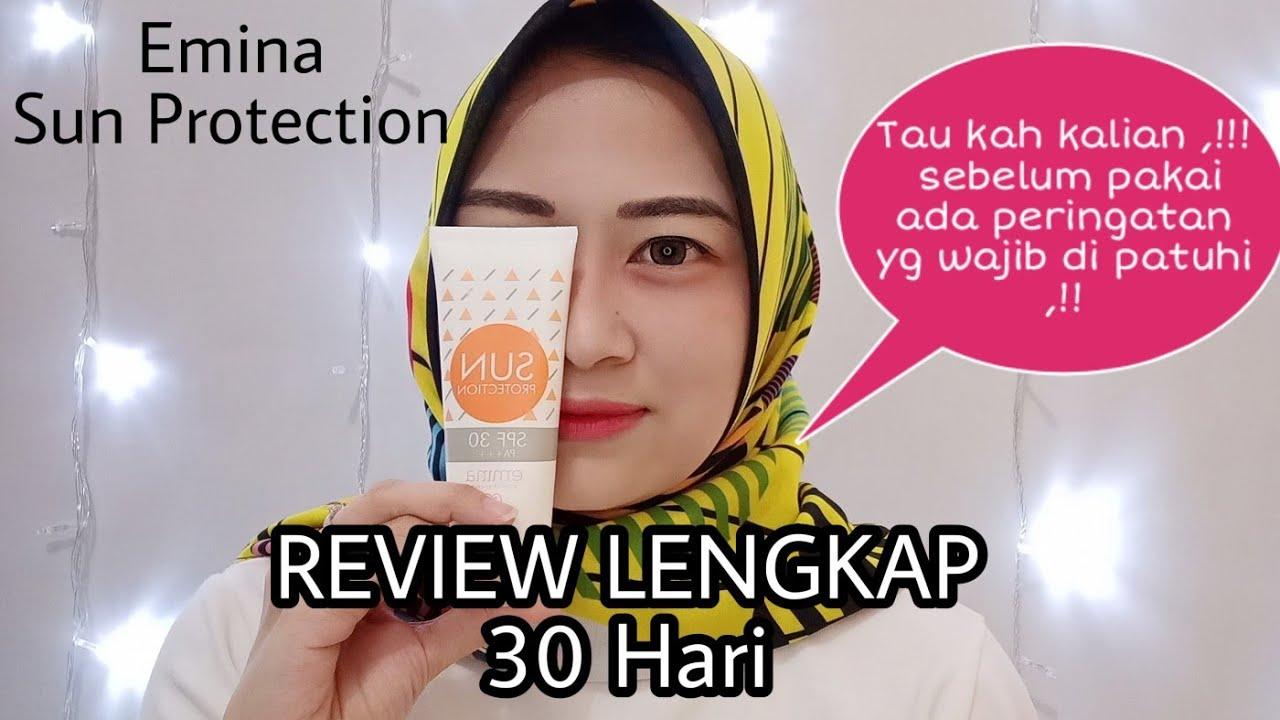 review emina sun protection spf 30 sunscreen emina sunblock murah dan bagus